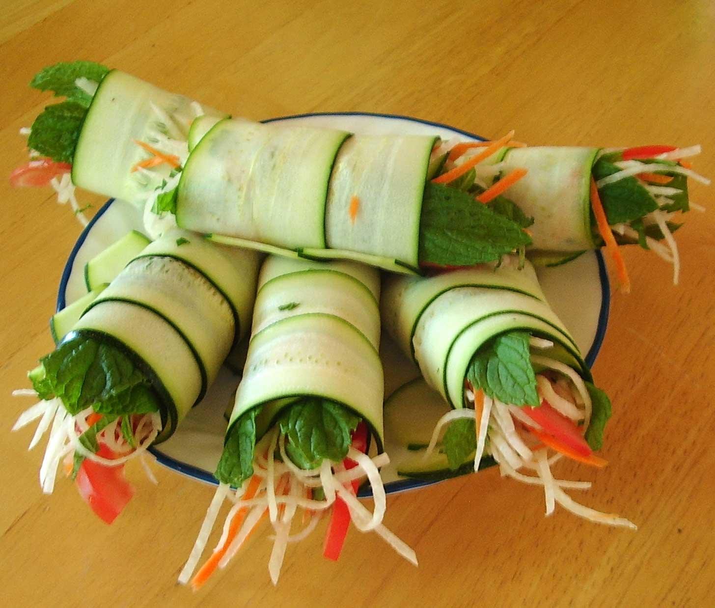 rulouri vegetale