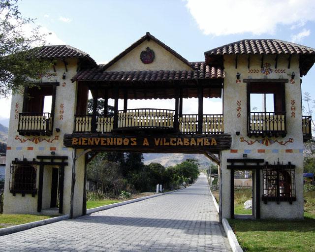 intrarea in localitatea Vilcabamba