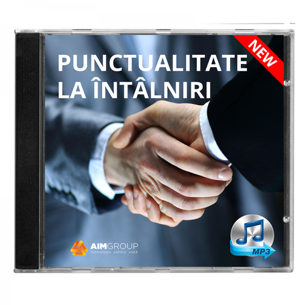 PUNCTUALITATE LA ÎNTÂLNIRI_new