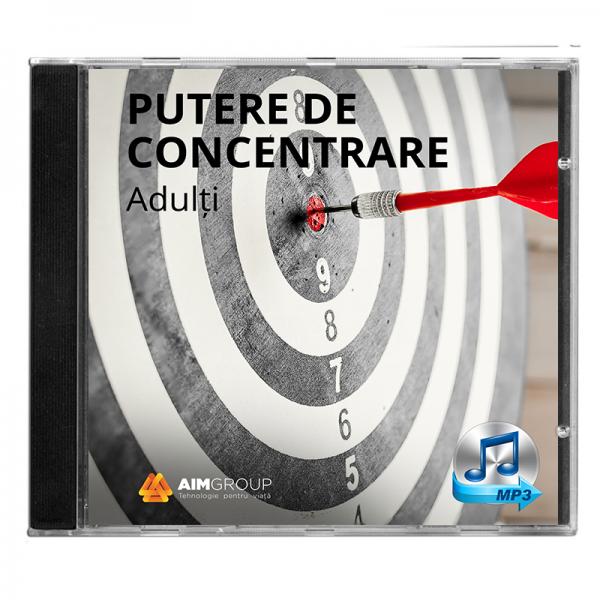 PUTERE DE CONCENTRARE_Adulți