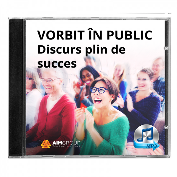 VORBIT ÎN PUBLIC – Discurs plin de succes