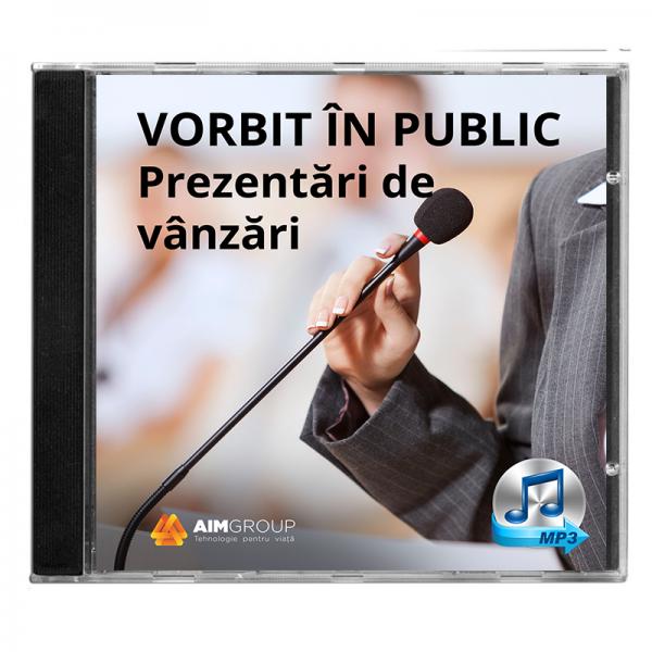 VORBIT ÎN PUBLIC_Prezentări de vânzări