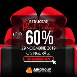 Promotie Black Friday 2019