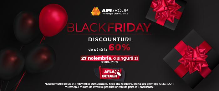 AIMGroup Promotii Black Friday
