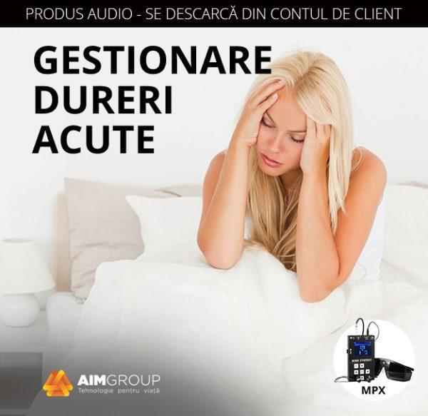 Gestionare dureri acute_MPX