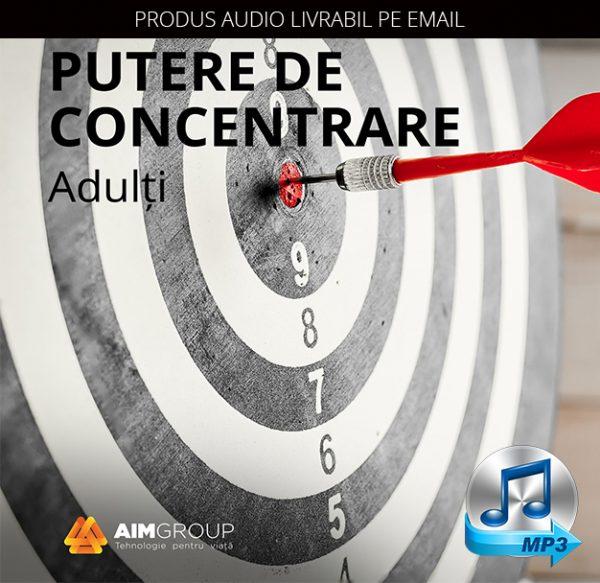 PUTERE DE CONCENTRARE_Adulți_MP3