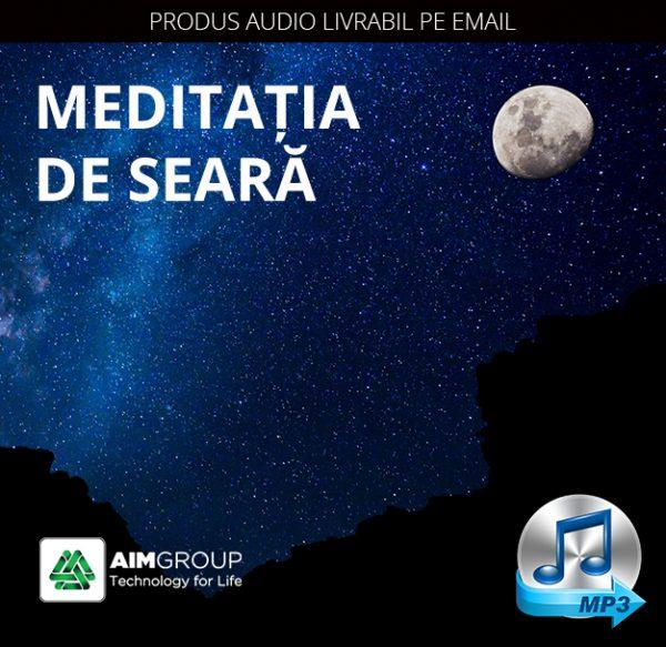 MEDITAȚIA DE SEARĂ_MP3